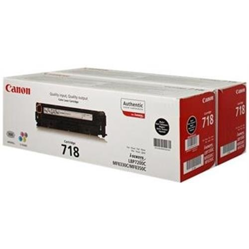 Toner CANON CRG-718 black (2ks) LBP 7200CDN, MF 8330CDN/8350CDN 2662B005