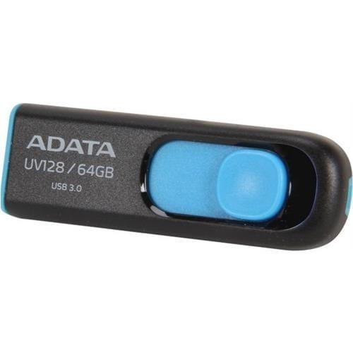 USB Kľúč 64GB ADATA UV128, modrý (USB 3.0) AUV128-64G-RBE