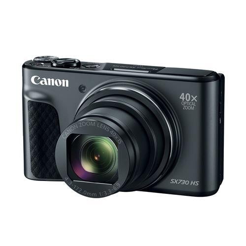 """Fotoaparát Canon PowerShot SX730HS, Black - 20MP, 40x zoom, 24-960mm, 3,0"""" 1791C002"""