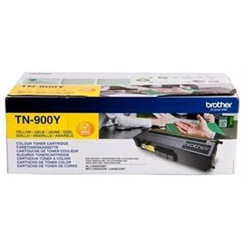 Toner BROTHER TN-900 Yellow HL-L9200CDWT, MFC-L9550CDWT TN900Y