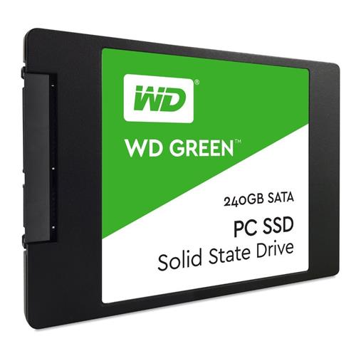 SSD 2,5'' 240GB WD Green 3D NAND SATAIII 7mm WDS240G2G0A
