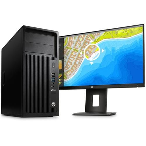 PC HP Z240 TW i5-6600/8GB/1TB/DVD/3NBD/7+10P