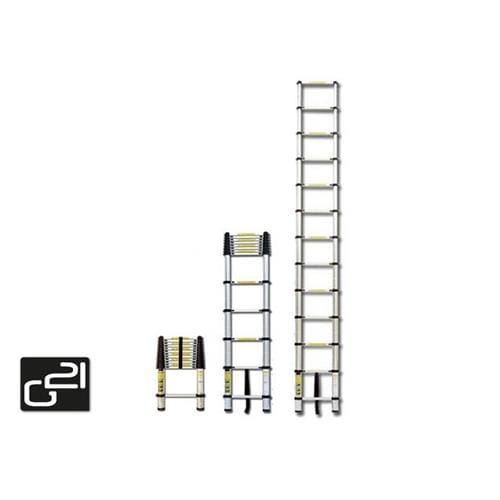 Teleskopický rebrík G21 GA-TZ7-2M hliníkový
