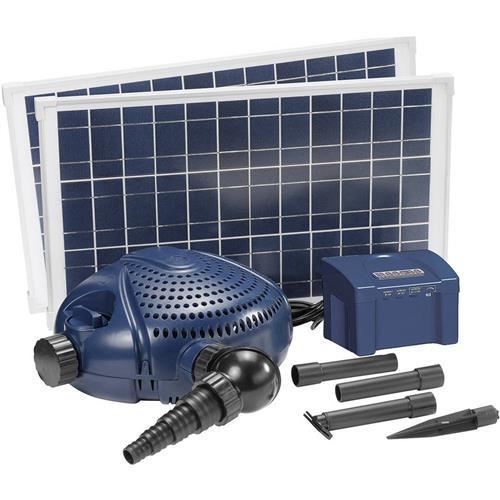 Solárna záhradná fontána - sada FIAP Aqua Active Solar 3.000 2554, 3000 l/h, 2.4 m 552668