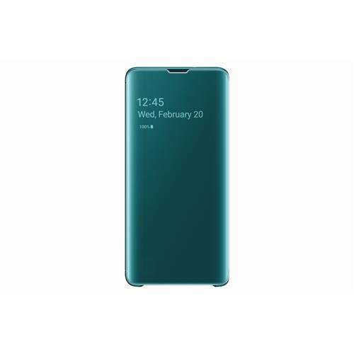 Samsung Flipové puzdro Clear View Cover S10 Green EF-ZG973CGEGWW
