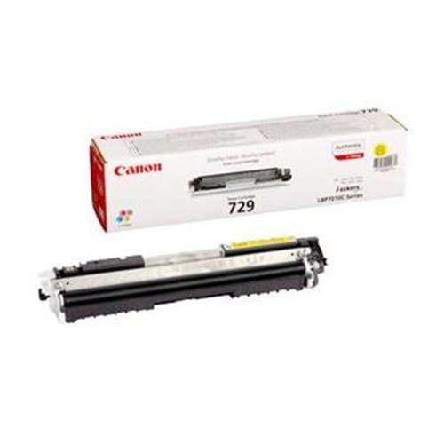 Toner CANON CRG-729 yellow LBP 7010C/7018C, MF 7170i 4367B002