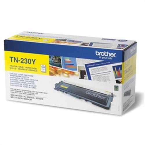 Toner BROTHER TN-230 Yellow HL-3040CN/3070CW, MFC-9120CN/9320CW TN230Y