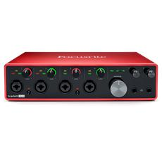 Focusrite Scarlett 18i8 3rd Gen, 18-in, 8-out USB audio interface (M)