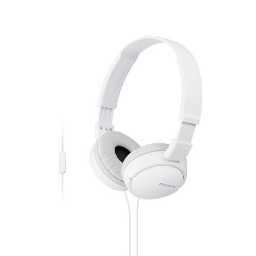 Slúchadlá Sony MDR-ZX110AP handsfree, biele MDRZX110APW.CE7