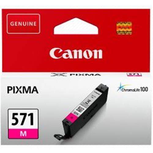 Kazeta CANON CLI-571M magenta MG 5750/5751/6850/6851/7750/7751 0387C001