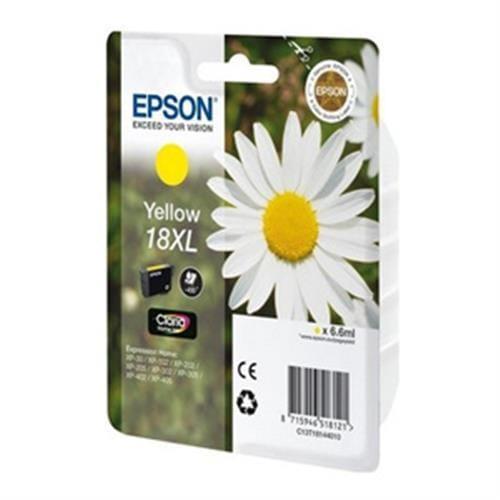 Kazeta EPSON T1814 18XL Yellow C13T181440