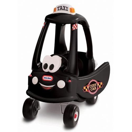 Little Tikes Cozy Coupe Black Taxi 160467