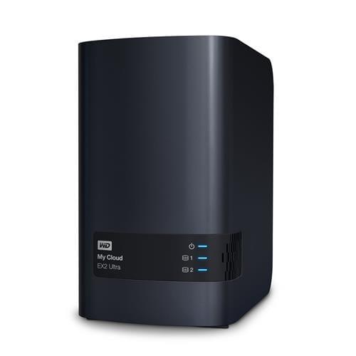 NAS 3.5'' WD My Cloud EX2 Ultra NAS LAN WDBVBZ0000NCH-EESN