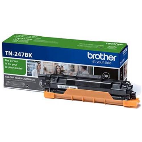 toner BROTHER TN-247 Black HL-L3210CW/L3270CDW, DCP-L3510CDW/L3550CDW, MFC-L3730CDN/L3770CDW TN247BK