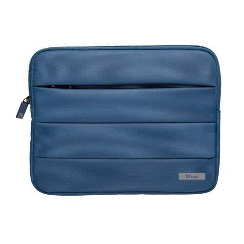 TRUST Nylon bubble sleeve for 10'' tablets - blue
