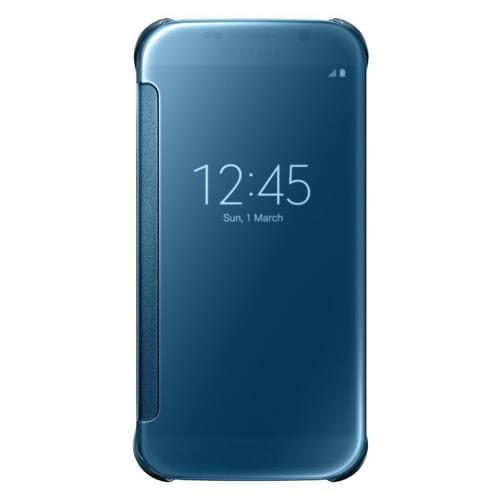 Samsung flipové puzdro Clear View EF-ZG920B na Samsung Galaxy S6 (SM-G920F), modré EF-ZG920BLEGWW