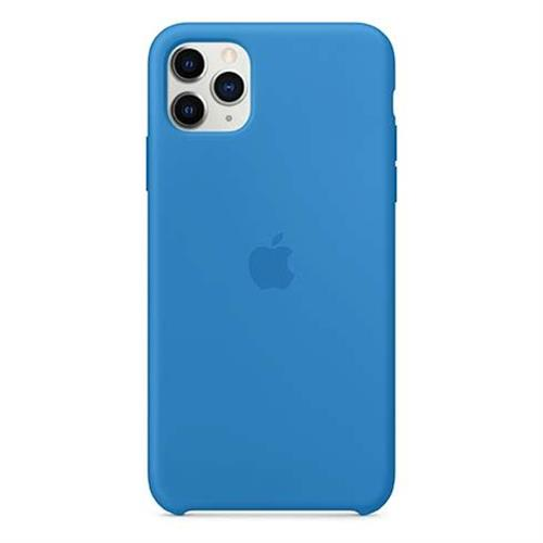 Apple iPhone 11 Pro Max Silicone Case - Surf Blue MY1J2ZM/A