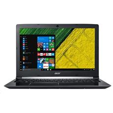 "Acer Aspire 5 A515-51-37BE i3-7100U(2.40GHz) 4GB 256GB SSD 15.6"" FHD matný integr.graf. Win10 čierna"