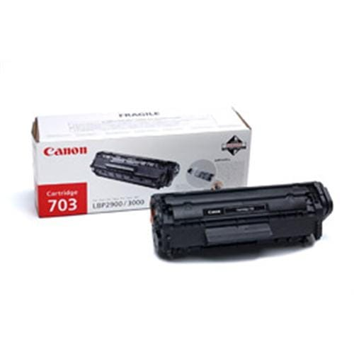 Toner CANON CRG -703 Black, pre LBP 2900 a LBP 3000 7616A005