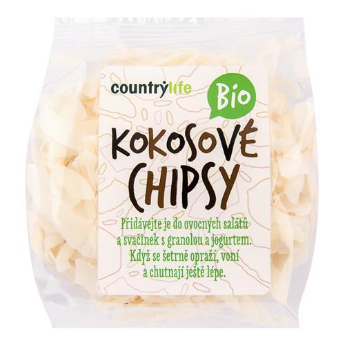 Kokosové chipsy 150 g BIO COUNTRY LIFE 140008