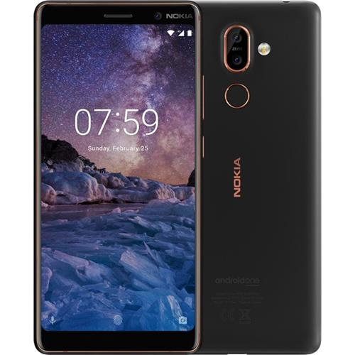 Nokia 7+ Single SIM Black/Copper 11B2NB01A08