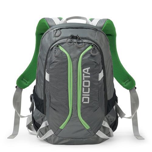 Batoh Dicota Backpack Active 14-15,6'', šedo/zelený D31221