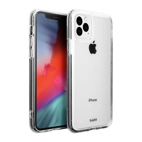 LAUT Crystal-X – Case for iPhone 11 Pro Max, Clear LAUT-IP19L-CX
