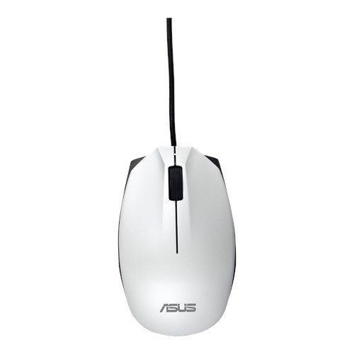 ASUS MOUSE UT280 Wired - optická drôtová myš; biela 90XB01EN-BMU030