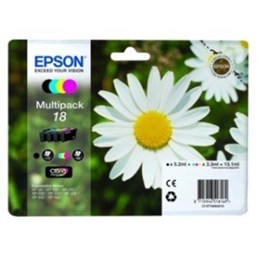 Kazeta EPSON XP-305 T1806 Multipack CMYK 18 C13T180640