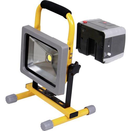 COB LED pracovní osvetlenie Shada 300171 20 W, napájené akumulátorom 1518200