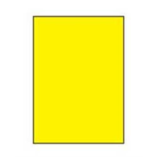 Etikety farebné 210x297mm Agipa A4 100 hárkov žlté AG119041