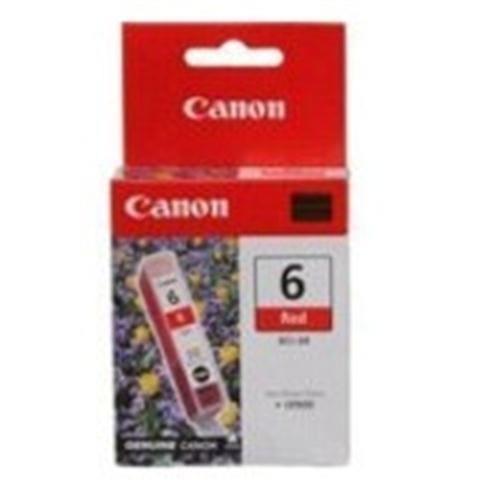 Kazeta CANON BCI-6R red PIXMA iP6000D/8500, i9950 8891A002