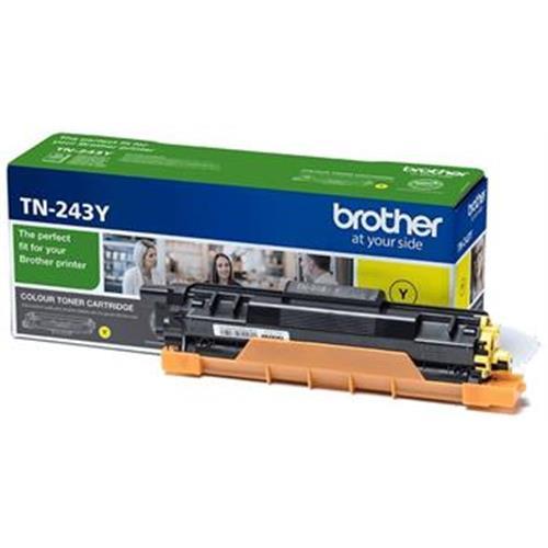 toner BROTHER TN-243 Yellow HL-L3210CW/L3270CDW, DCP-L3510CDW/L3550CDW, MFC-L3730CDN/L3770CDW TN243Y