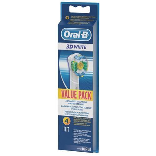 ORAL-B Náhradné hlavice EB 18-4 3D White Luxe