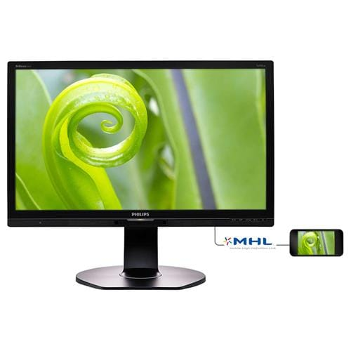 Monitor Philips 241P6EPJEB, 24'', LED, FHD, IPS, DP, USB, piv, rep 241P6EPJEB/00