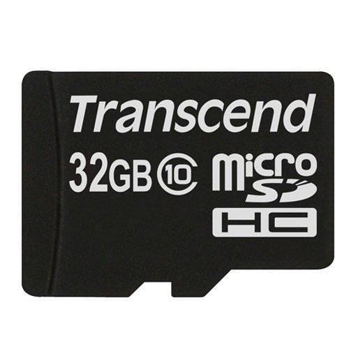 Transcend 32GB microSDHC (Class 10) pamäťová karta (bez adaptéra) TS32GUSDC10