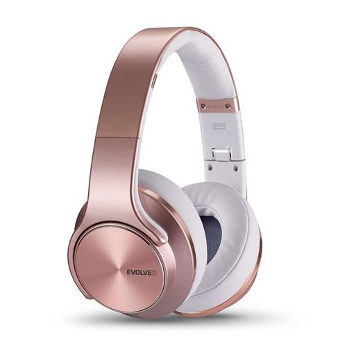 EVOLVEO SupremeSound E9, Bluetooth slúchadlá a reproduktory 2v1, ružové SD-E9-RG