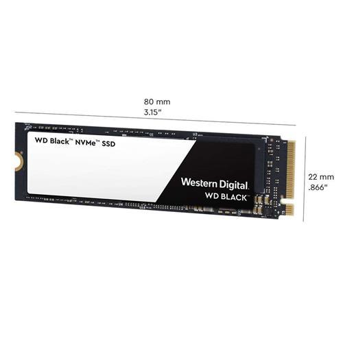 SSD 500GB WD Black NVMe M.2 PCIe Gen3 x4 2280 WDS500G2X0C