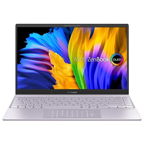 "ASUS Zenbook 13 UX325EA-OLED421T Intel i3-1115G4 13,3"" OLED FHD lesklý UMA 8GB 512GB SSD WL BT Cam W10 strieborný, NumPad"