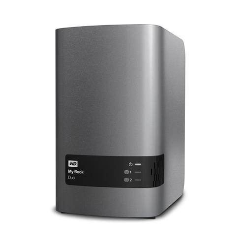 Ext. HDD WD My Book Duo 4TB, 3.5'', USB 3.0 WDBLWE0040JCH-EESN