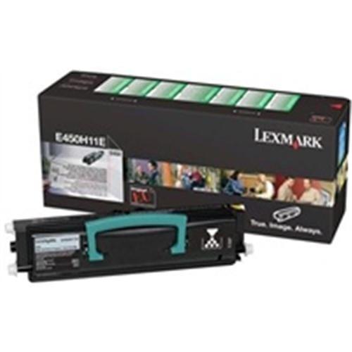 Toner LEXMARK black E450 11000 str. E450H11E