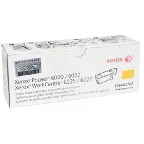 Toner XEROX 106R02762 yellow PHASER 6020/6022, WorkCentre 6025/6027