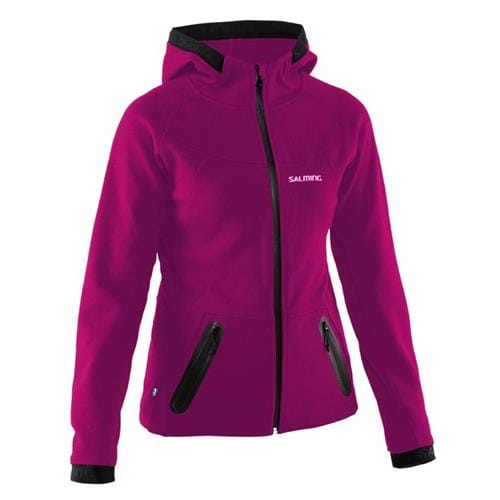 SALMING Running Hood Women Bright Coral S