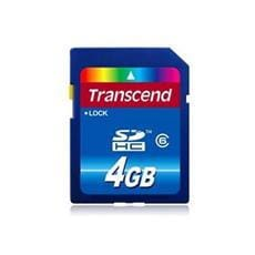 Transcend 4GB SDHC (Class 10) SD3.0 SPD, memory card