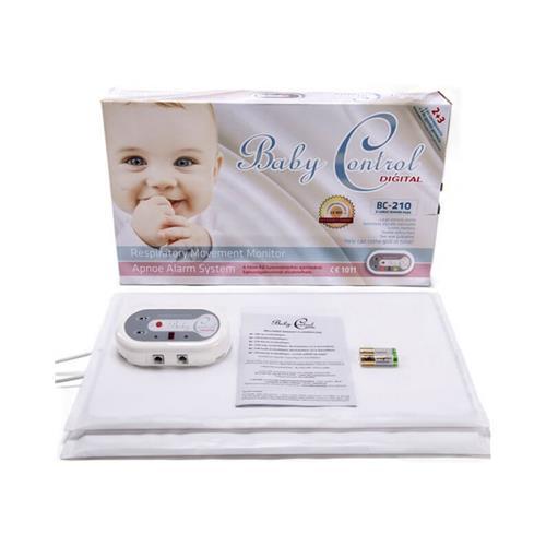 Monitor dychu Baby Control BC-210, s 1x2 senzorovými podložkami 119974