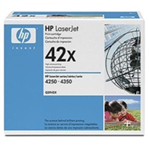 Toner HP Q5942XD cartridge, Black, pre LJ 4250/4350, až 20000 strán
