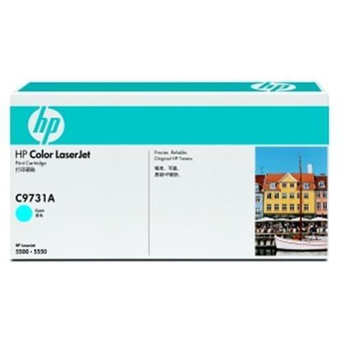 Toner HP C9731A Smart 5500 CYAN