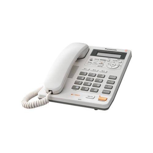 Panasonic KX-TS620FXW jednolinkovy telefon / biely