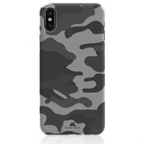 Black Rock Camouflage Case pre iPhone X - Black BR-1050CFL02