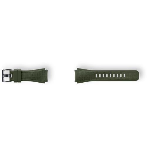 Samsung silikónový náramok pre Gear S3, Khaki ET-YSU76MGEGWW
